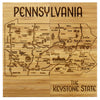 Pennsylvania Puzzle Coaster Set