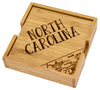 North Carolina Puzzle Coaster Set  (#20-6927)