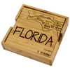 Florida Puzzle Coaster Set  (#20-6929)
