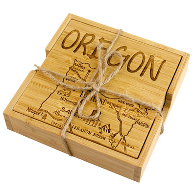 Oregon Puzzle Coaster Set  (#20-6934)