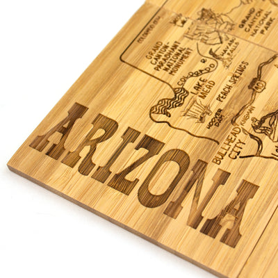 Arizona Puzzle Coaster Set  (#20-6937)