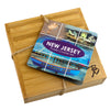 New Jersey  Puzzle Coaster Set  (#20-6939)