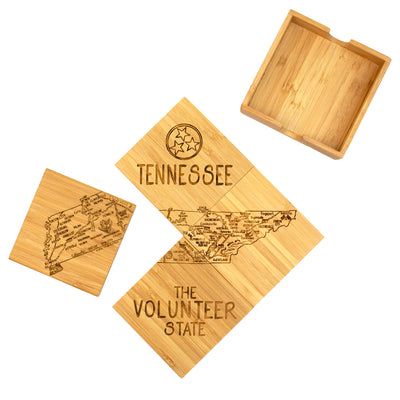 Tennessee Puzzle Coaster Set  (#20-6940)