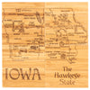 Iowa Puzzle Coaster Set  (#20-6950)