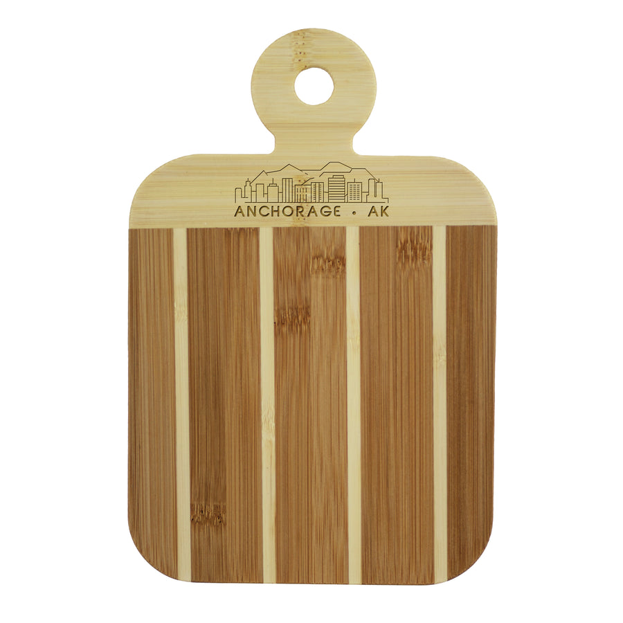 City Skyline Paddle Board - Anchorage Alaska (#20-7608ANC) - Self-Promo