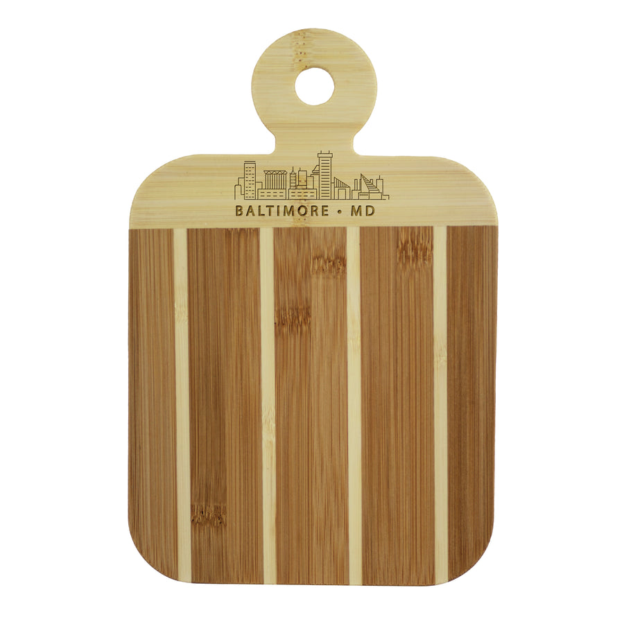 City Skyline Paddle Board - Baltimore Maryland (#20-7608BAL) - Self-Promo