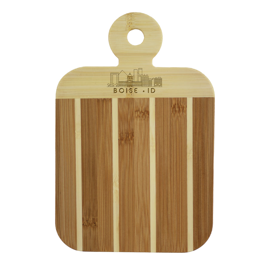 City Skyline Paddle Board - Boise Idaho (#20-7608BOI) - Self-Promo