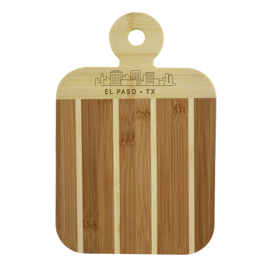 City Skyline Paddle Board - El Paso Texas (#20-7608ELP) - Self-Promo
