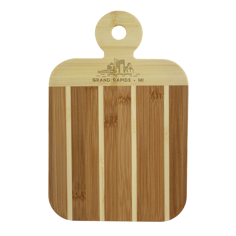 City Skyline Paddle Board - Grand Rapids Michigan (#20-7608GRR) - Self-Promo
