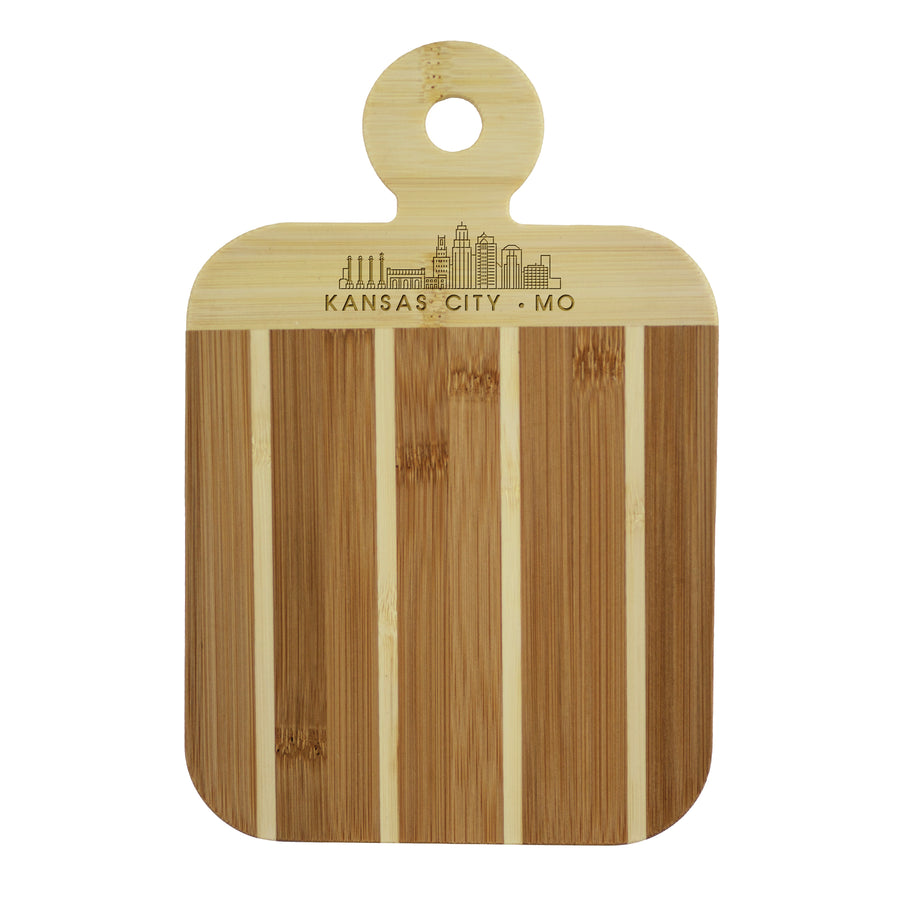 City Skyline Paddle Board - Kansas City Missouri (#20-7608KC-MO) - Self-Promo