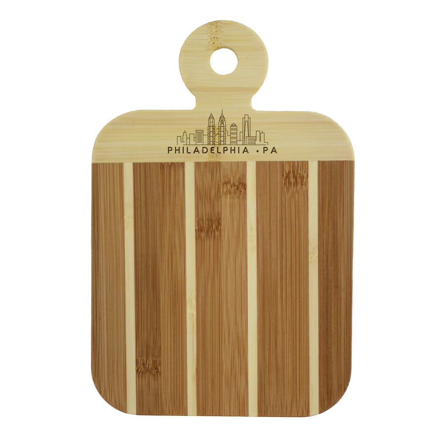 City Skyline Paddle Board - Philadelphia Pennsylvania (#20-7608PHI) - Self-Promo