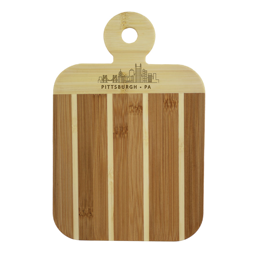 City Skyline Paddle Board - Pittsburgh Pennsylvania (#20-7608PIT) - Self-Promo