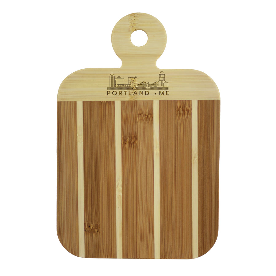 City Skyline Paddle Board - Portland Maine (#20-7608POR-ME) - Self-Promo