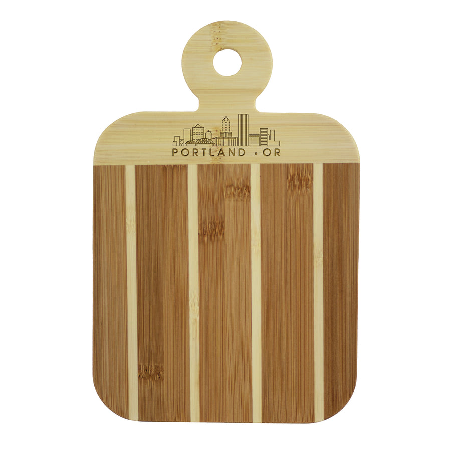 City Skyline Paddle Board - Portland Oregon (#20-7608POR-OR) - Self-Promo