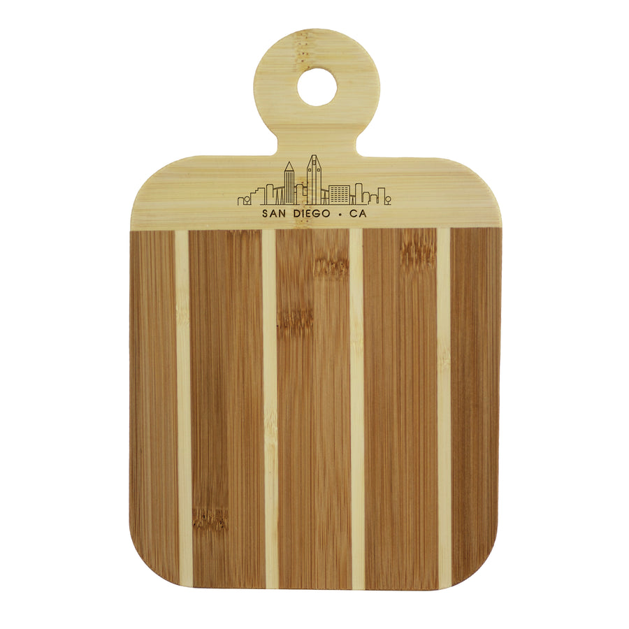 City Skyline Paddle Board - San Diego California (#20-7608SAN) - Self-Promo