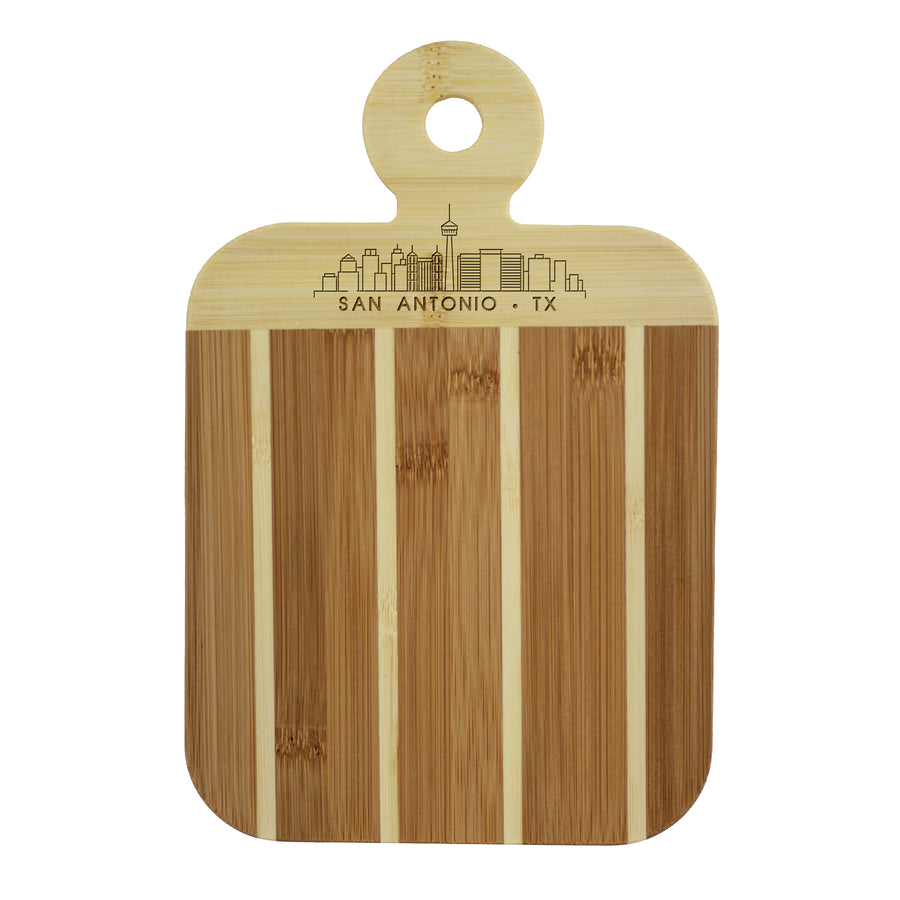 City Skyline Paddle Board - San Antonio Texas (#20-7608SAT) - Self-Promo