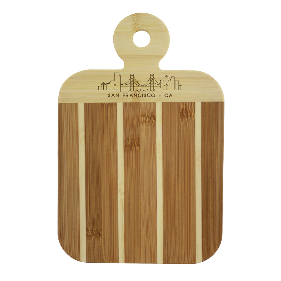 City Skyline Paddle Board - San Francisco California (#20-7608SFO) - Self-Promo