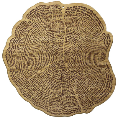 "13"" Tree Of Life Serving Board"