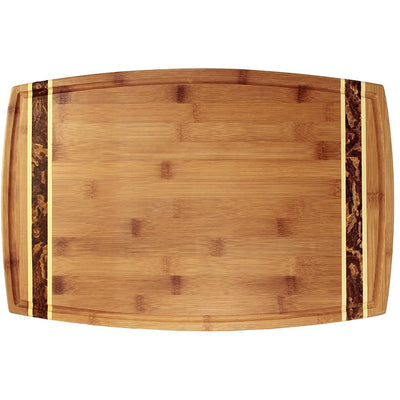 Marbled Bamboo Cutting Board - 18 inch