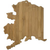 Alaska State Cutting Board  (#20-7990AK)