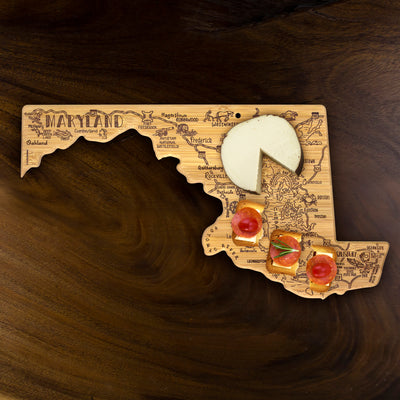 Destination Maryland Cutting & Serving Board  (#20-8077)