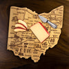 Destination Ohio Cutting & Serving Board  (#20-8085)