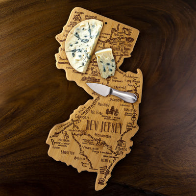 Destination New Jersey Cutting & Serving Board  (#20-8086)