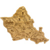 Destination Oahu Hawaii Cutting & Serving Board  (#20-8090)
