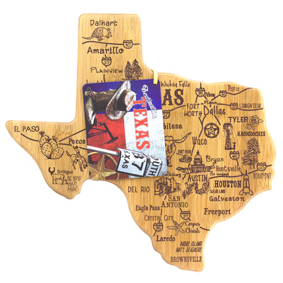 Destination Texas Cutting & Serving Board  (#20-8093)