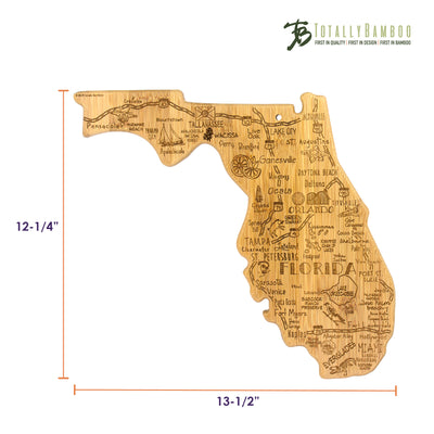 Destination Florida Cutting & Serving Board  (#20-8101)