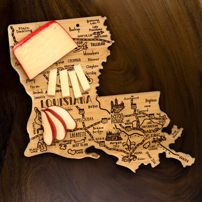 Destination Louisiana Cutting & Serving Board  (#20-8106)