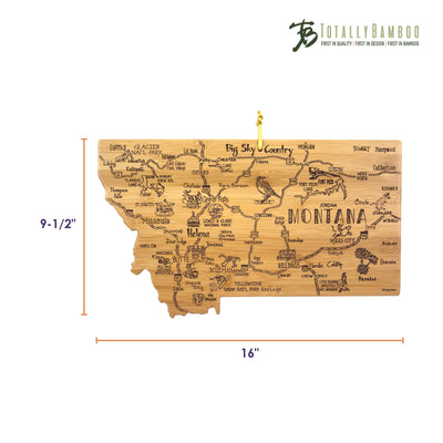 Destination Montana Cutting & Serving Board  (#20-8109)