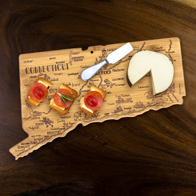 Destination Connecticut Cutting & Serving Board  (#20-8125)