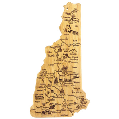 Destination New Hampshire Cutting & Serving Board  (#20-8134)