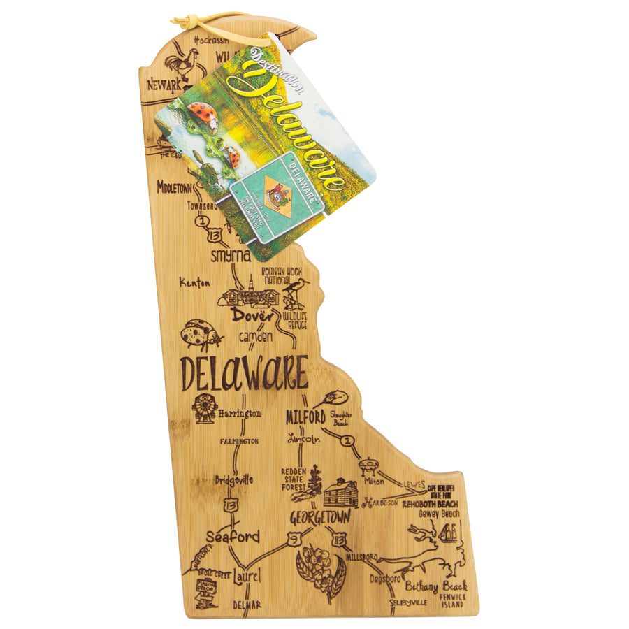 Destination Delaware Cutting & Serving Board