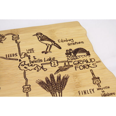 Destination North Dakota Cutting & Serving Board  (#20-8138)