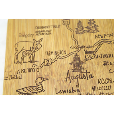 Destination Maine Cutting & Serving Board  (#20-8142)