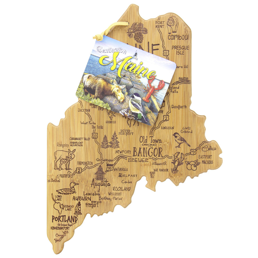 Destination Maine Cutting & Serving Board