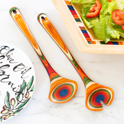 Marrakesh Salad Serving Set (#20-9508) - Self-Promo