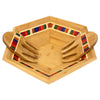 Marrakesh Salad Bowl and Salad Hands Set  (#20-9571)