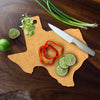 Vellum Texas State Cutting & Serving Board  (#25-8957)