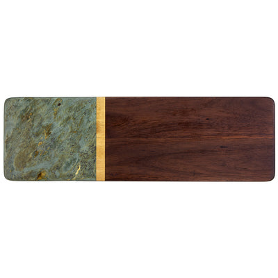Slate and Acacia Serving Board