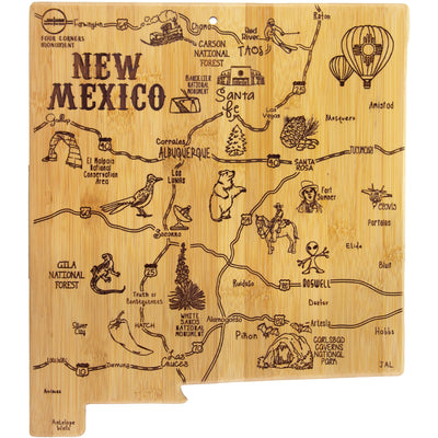 Destination New Mexico Cutting & Serving Board
