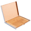 "11""Two-Tone Cutting Board with Engraved Gift Box - Self Promo"