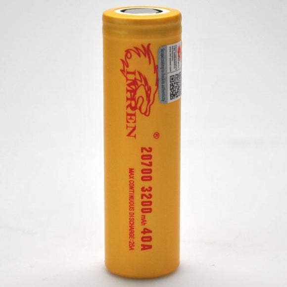 IMREN 21700 3750MAH BATTERY