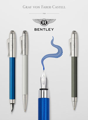 Bentley Teams Up With Graf von Faber Castell Pens