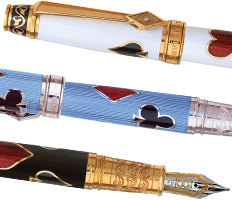 David Oscarson Les Quatre Couleurs Fountain Pens