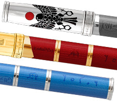 David Oscarson Rosetta Stone Fountain Pens