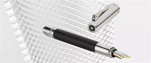 Graf von Faber Castell Bentley II Fountain Pen - Ebony