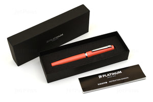 Platinum Procyon Fountain Pen - Persimmon Orange